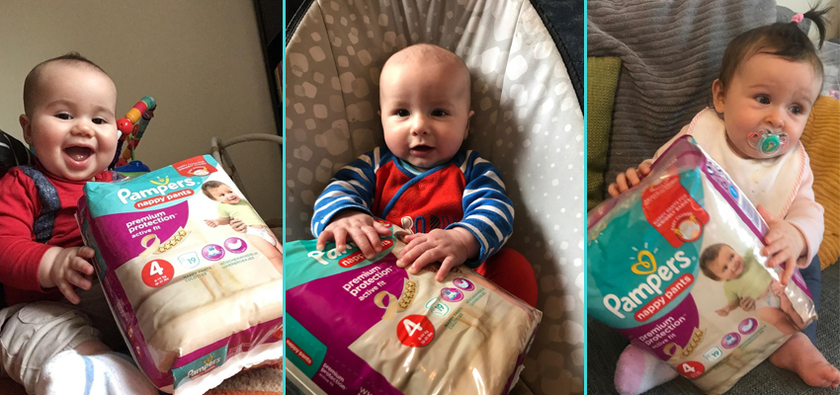 Our first impressions of Pampers active fit nappy pants