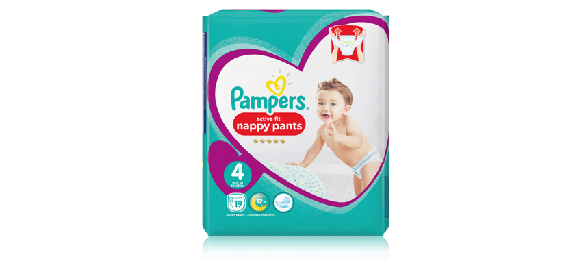 5,000 of us will test Pampers active fit nappy pants in our first Pampers Squad Project...