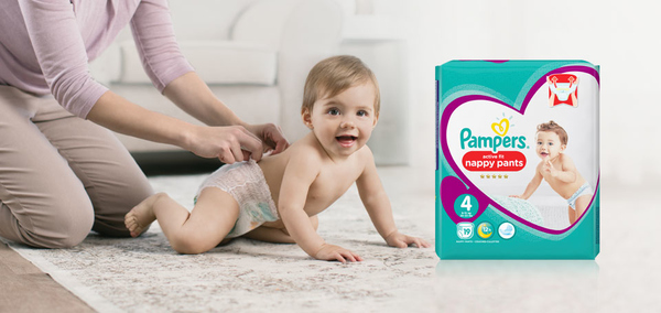 5,000 Pampers Squaddies participate in our premiere Squad Project with Pampers active fit nappy pants!