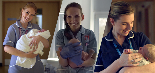 The Squaddies joins Pampers to say #ThankYouMidwife